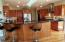 Gourmet Kitchen w/breakfast bar