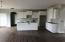 Full overlay white cabinetry.