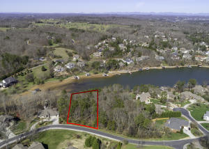 Tellico Village-Lakefront Lot - Water is a winter low