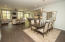 Fabulously open floor plan with space for formal dining