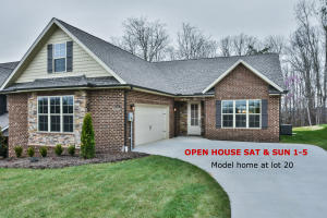 Hickory Floor Plan - 3 bed/2 bath ranch with Bonus Room. Open House Sat & Sun - Ready to Move In! Model Home at Lot 20