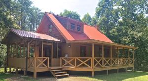 WELCOME HOME!1 & 1/2 STORY LOFT CABIN -STYLE HOME ON 5.02 ACRES