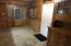 Exterior entry to additional living quarters