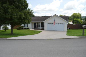 This home features many updates, plus the new Gibbs Middle School just opened it's doors this year. Qualifies for USDA financing!! New ceramic tile in the Kitchen, 2nd Bath & Laundry Rm. Large open floor plan with vaulted ceiling. Master BR/BA boast large walk in closet, new ceramic tile & vanity/counter top. Split BR floor plan. New decking added to patio to make it a large entertaining area plus a large fenced in yard. Large corner lot in a cul de sac. All new oil rubbed bronze door handles/locks. New glass storm door installed. Some new 2'' blinds. Refinished kitchen cabinets along with new SS Dishwasher/Range-Oven/Microwave. Large 2 car garage. This one WILL NOT last long at this price! Drapes do NOT convey.