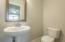 half bath in bonus room