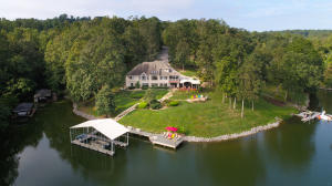 Aerial View of the back