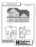 The Carolina w/2 Car Garage - Master on the Main, 4 BR/3.5 BTH (Front Elevation May Vary)