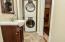 Half bath and laundry room on main floor