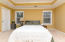 Really good sized master bedroom.
