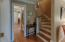 CURVED STAIRCASE FOR EASY ACCESS