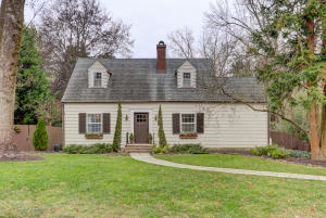 Beautifully updated Cape Cod on desirable Kenilworth Drive in Sequoyah Hills with Addition.