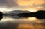 Sunset on Bat Creek Cove