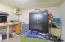 Basement Workshop - Gun Safe Conveys with home
