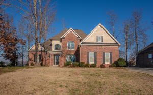 Brick Traditional 2-Story Basement Home with Golf & Mountain Views!