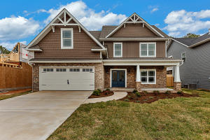 Craftsman Style Exteriors w/ Covered Front Porch and level yard