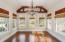 Large Vaulted Keeping Room/Breakfast Room off Kitchen