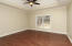 Spacious Master bedroom w/tray ceiling w/new ceiling fan/light, gleaming hardwoods