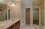 Ensuite w/linen closet, separate water closet, separate shower and extra large walk-in closet