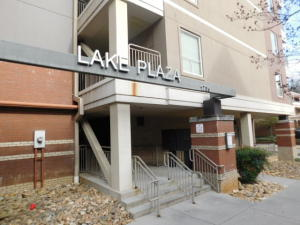 Entrance of Lake Plaza
