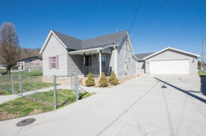 Front view of your new home with Driveway