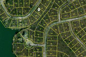 CRS Data Property Map for 33 Calderwoo