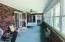 40 x 9 Sun room w/ 15 windows