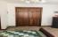 Solid wood doors in bedrooms