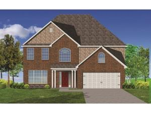 The Talbot 4BR/2.5BA/Unfinished walk-out basement with full bath rough-in. (2) Covered Decks 18'4 x 16. All Brick.