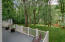 Check out the depth of the back yard-- private and great for play!