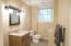 Half Bath in Basement
