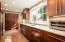 Updated Chef's Kitchen with high-end appliances and Mouser cabineter