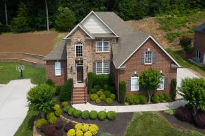 custom built two story basement home