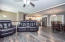 Open Floorplan joins living room/dining room and kitchen!