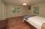 Roomy Bedroom 2 with double door closet entry
