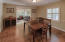 Formal Dining with Living Room to Left & Family Room straight ahead