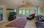 Family Room off the Dining Room overlooking tranquil gardens