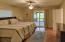 Sizable Master with ensuite updated bath and access to the Screen Porch