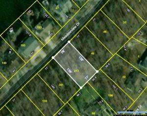 CRS Data - Property Map for 160 Meadowvi