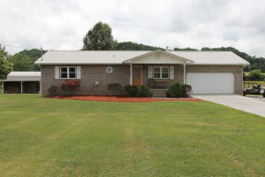 BUYER'S DIDN'T GET THEIR FINANCING SO NOW IS YOUR CHANCE TO GRAB THIS ONE UP BEFORE IT'S GONE AGAIN!!! PERFECT ONE LEVEL LIVING IN THIS ALL BRICK LOW MAINTENANCE HOME, 3 BED 2 BATH, 2 CAR GARAGE, AWESOME COVERED BACK PORCH WITH DOUBLE CEILING FANS AND A BEAUTIFUL VALLEY VIEW OFF THE SIDE, GREAT LEVEL FRONT & BACK YARD, 1.05 ACRE TOTAL, PEACEFUL AND SERENE SETTING, OVER-SIZED STORAGE SHED WITH POWER, NEW WINDOWS, ROOF AND HVAC, TILE AND HARDWOOD FLOORS, NEW KNOTTY PINE CABINETS AND SOLID SURFACE COUNTER TOPS IN KITCHEN, INSULATED GARAGE, EXTRA LARGE LAUNDRY ROOM. B-DRY CRAWLSPACE WATERPROOFING SYSTEM WITH WARRANTY JUST INSTALLED!!