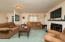 This is one of two family areas with a large rec room in the basement!