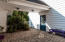 Courtyard Patio and Breezeway to Garage