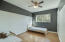 Third bedroom with Ceiling Fan