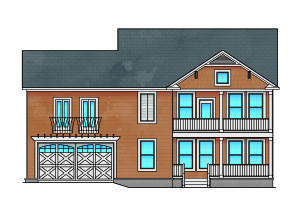 Lot 35 Front elevation RECOLOR (2)
