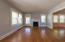 Living Room w/ Door to Side Porch