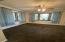 Formal dining room with 2 large bay windows.