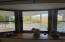 Bay window in dining room.