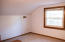 Large upstairs area w/ two rooms, full bath and closet.