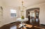 Formal Dining Room with Re-fortified Corner Cupboards