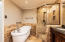 High-end Master Bath with Luxury Soaking Tub and Walk-in Shower