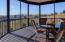 Screened porch overlooking lake & Mountains